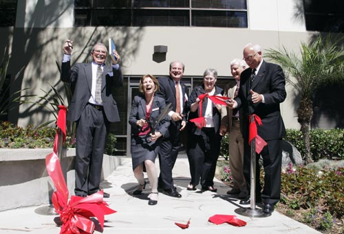 Bastyr University California ribbon cutting.
