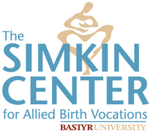 The Simkin Center for Allied Birth Vocations logo