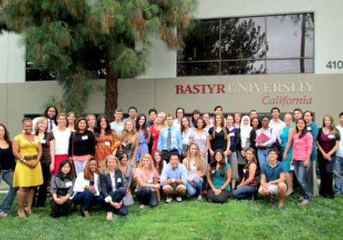 A portrait of the first class of Bastyr University California.